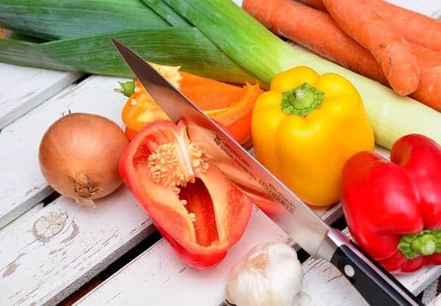 Gesundes Gemüse zum Grillen
