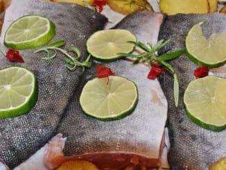 Fisch der sich für einen Fischkorb eignet