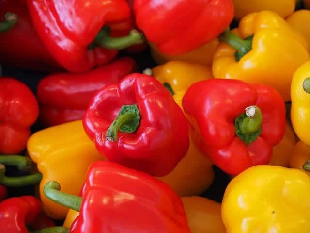 Paprika grillen mit leckerer Marinade